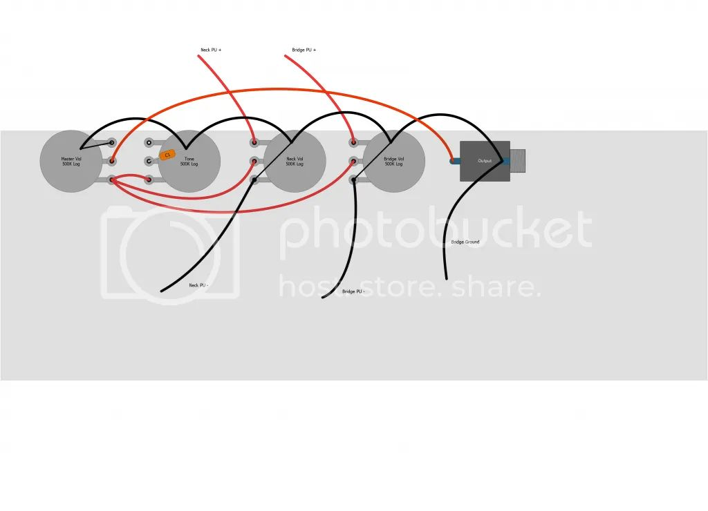 stacked pots wiring diagrams