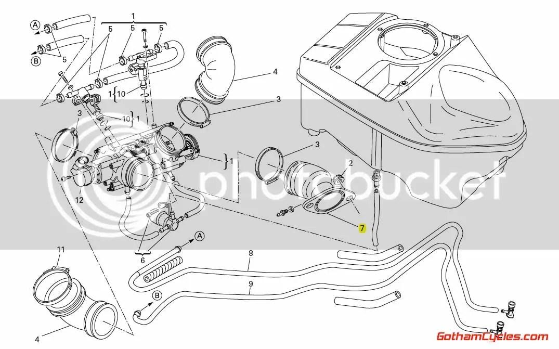 Ducati Intake Manifolds: Hypermotard, Multistrada, Monster