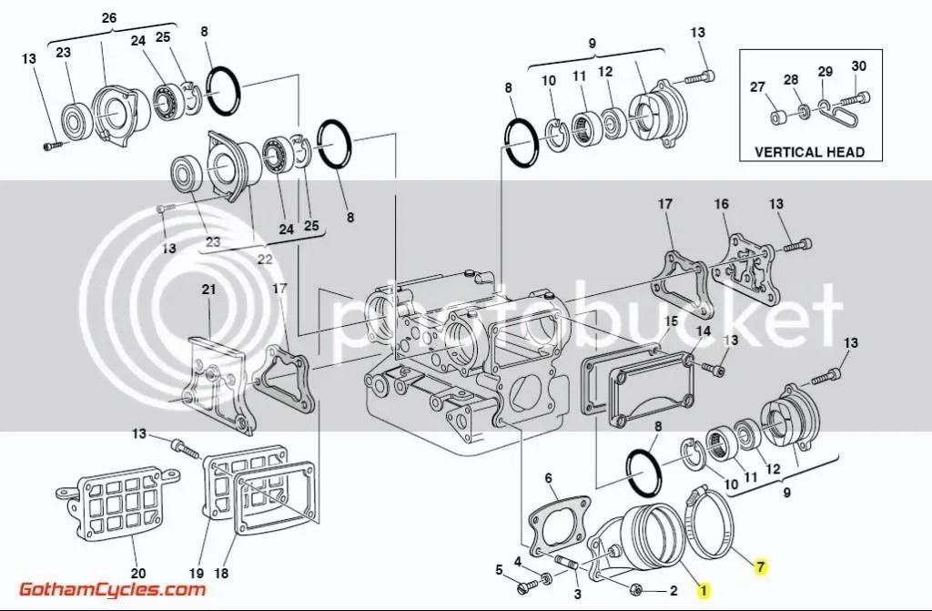 Ducati Intake Manifolds: 916-996, Monster, ST MONSTER S4