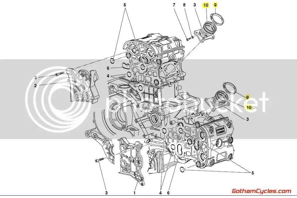 Ducati Intake Manifolds: 749 SUPERBIKE 749 14020112A