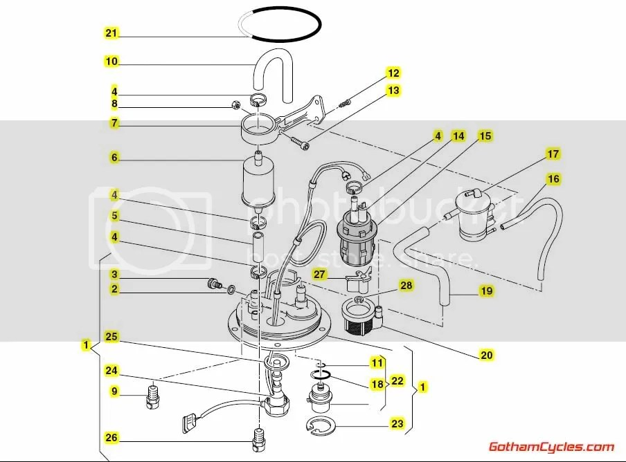 Fuel Pump For A 748 Ducati Wiring Diagram Free Download