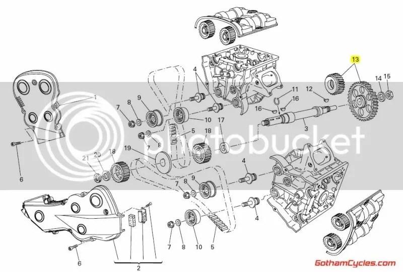 Ducati Timing Gears: 848-1098, HM SUPERBIKE 848 1098 1098S
