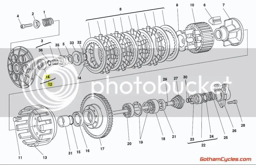 Ducati Clutch Pressure Plate SUPERBIKE 748 748S 748R 916
