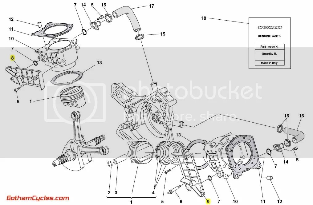 Ducati Engine Inner Belt Covers Early Style Testastretta