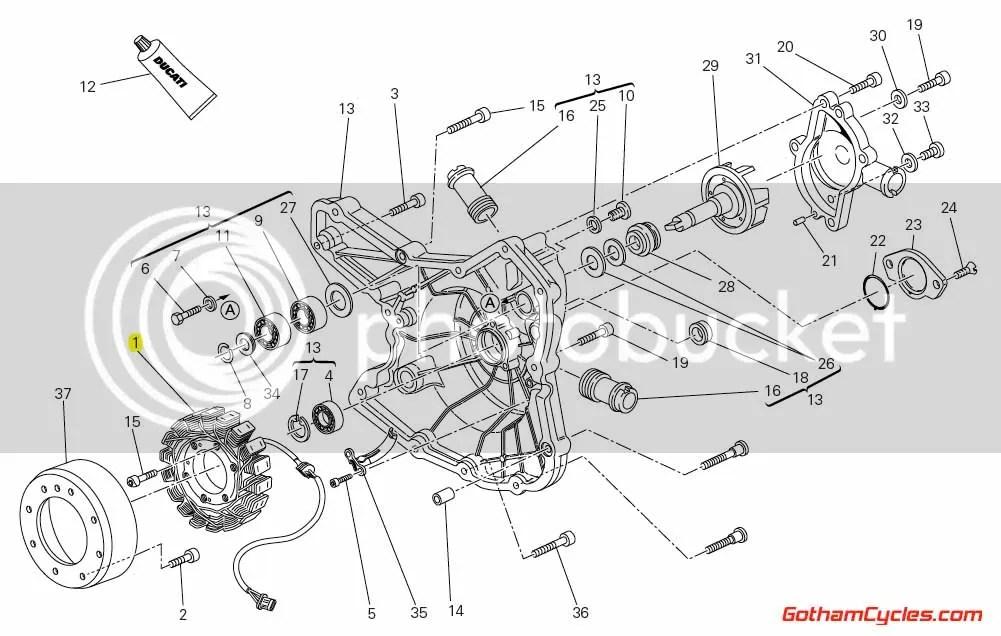 Ducati Stator Alternator Generator: StreetFighter