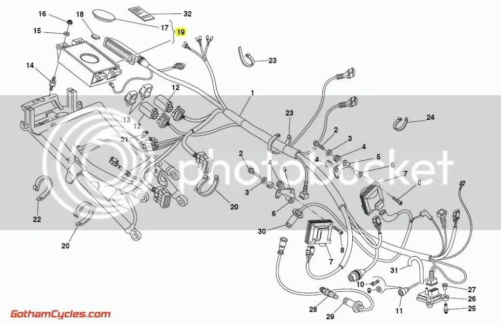 Ducati Computer ECU 1.6M: 748-996,ST4 SUPERBIKE 748 748S
