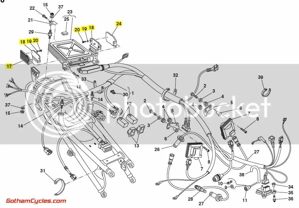 Ducati Computer ECU P8 Amplifiers: 916/916SPS/996SPS