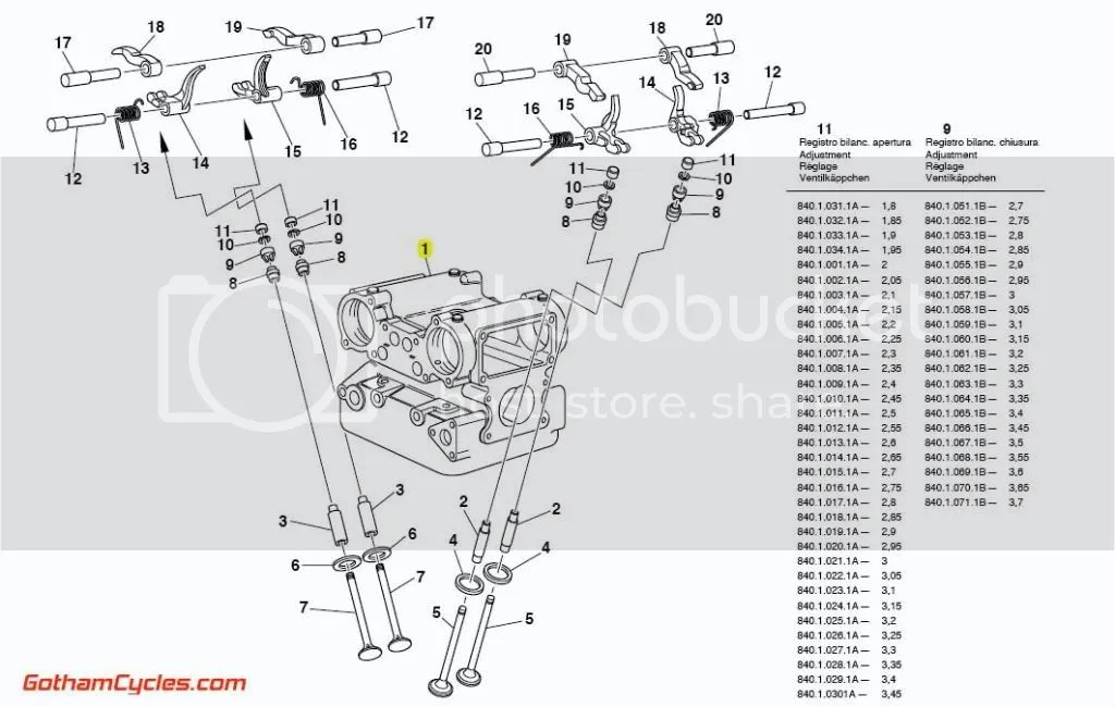 Ducati Cylinder Heads: 996 SUPERBIKE 916SPS 996 996S