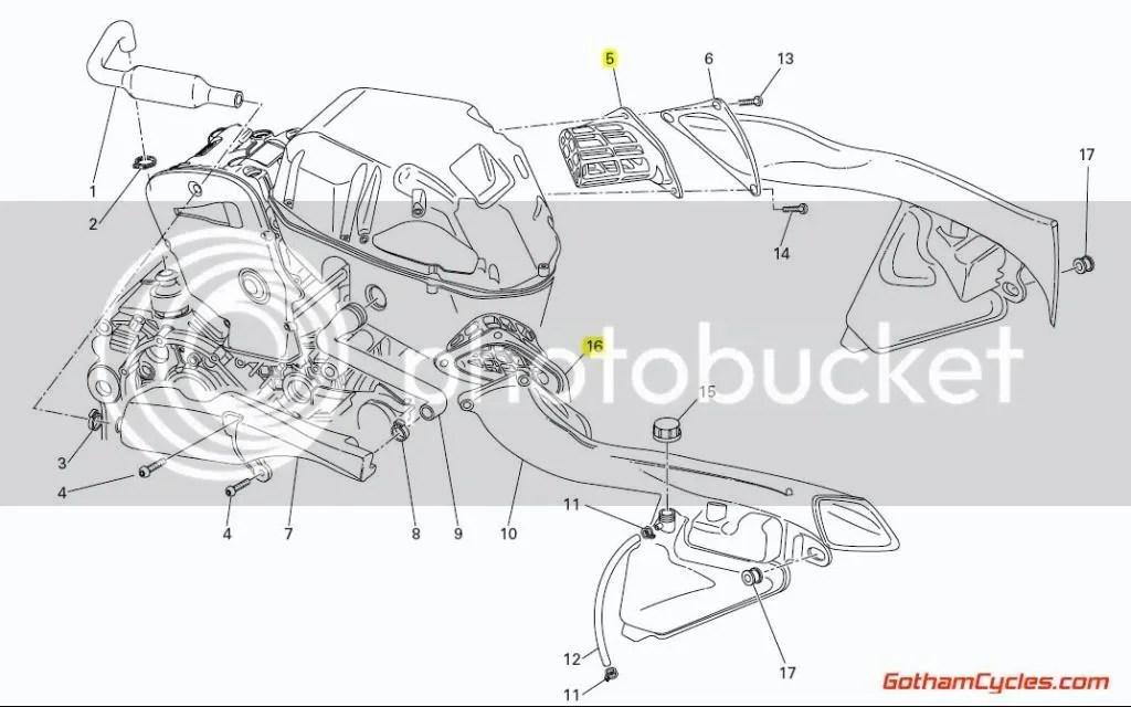 Ducati Air Filters: 749/999 SUPERBIKE 749 749S 749R 999