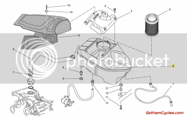 Ducati Airbox: Hypermotard, Sport Classic 44211291B