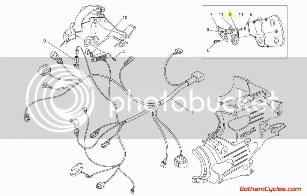 Ducati Horn: 749/99 SUPERBIKE 749 749S 749R 999 999S 999S
