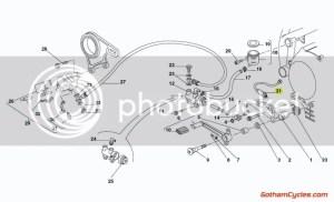 Ducati Rear Brake light tail light stop Switch sensor SUPERBIKE 748 748S 748R 916 916SPS 996