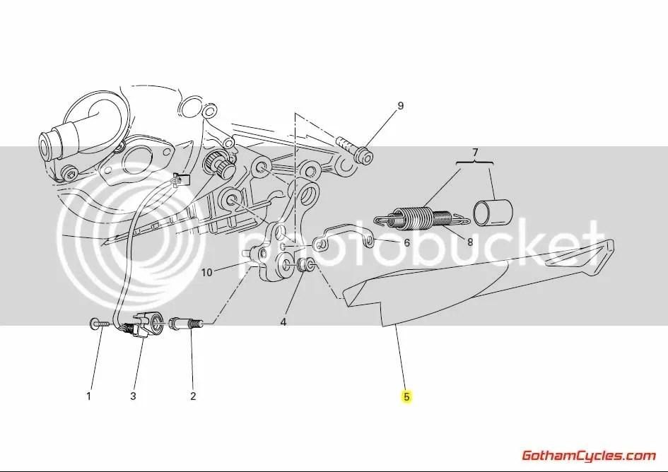Ducati Kickstand Side Stand: 749/999 SUPERBIKE 749 749S