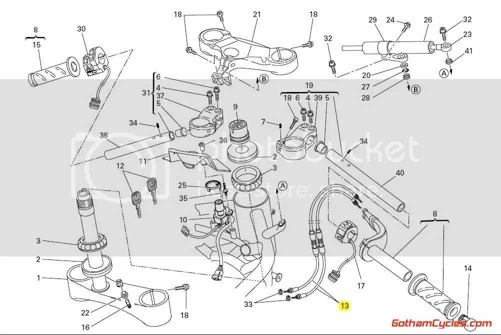 Ducati Throttle Cables: 1098 SUPERBIKE 1098 1098S 1098S