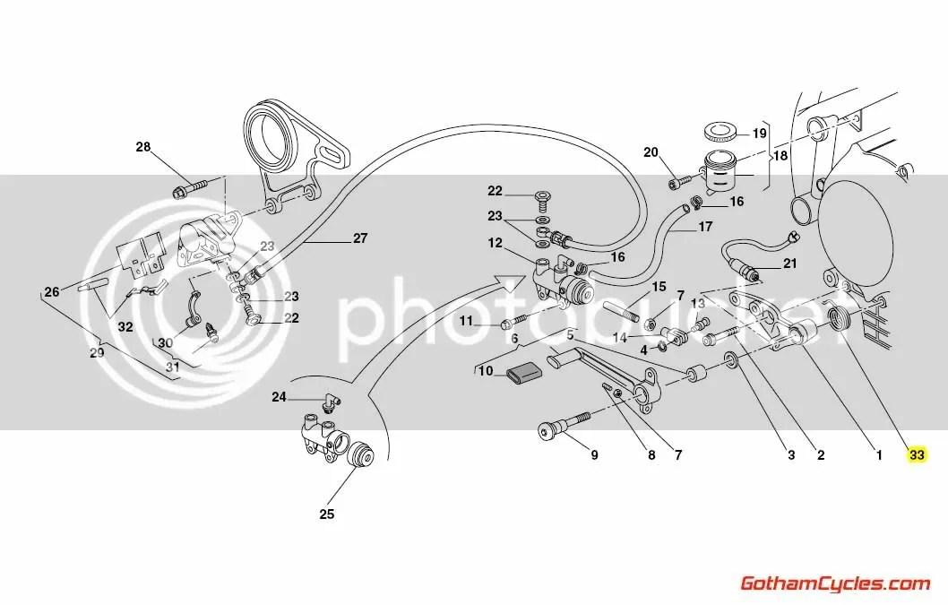 Ducati Rear Brake Pedal Spring SUPERBIKE 748 748S 748R 916