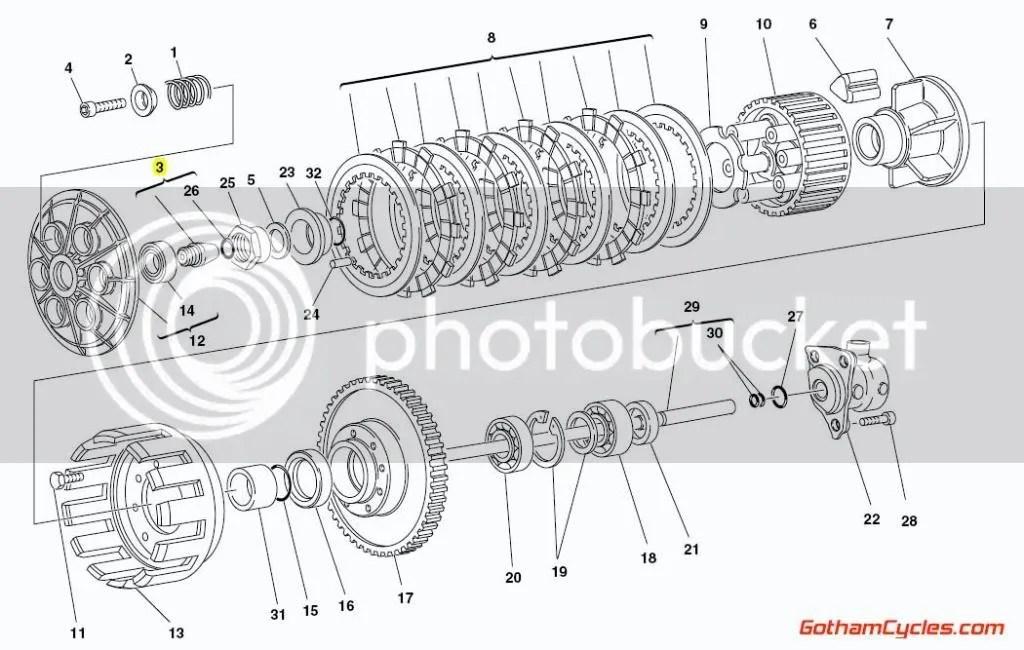 Ducati Clutch Control Pin SUPERBIKE 748 748S 916 916SPS