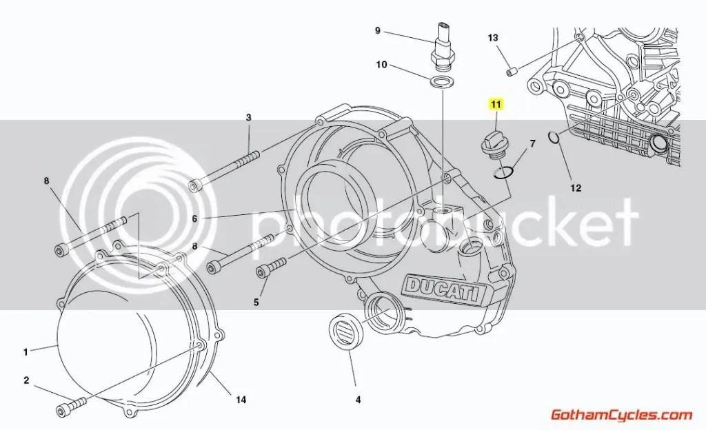 Ducati Oil Filler Cap SUPERBIKE 748 748S 748R 916 916SPS
