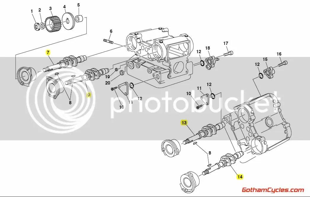 Ducati Camshafts: 851/888, 748-996, ST SUPERBIKE 748 748S