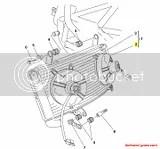 Ducati Radiator Cooling Fan: 996R/998 SUPERBIKE 996R 998