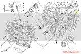Ducati Timing Crankshaft / Crank Angle Position Sensor