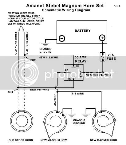 horn wiring diagram 2005 yamaha banshee new big dog motorcycles forum