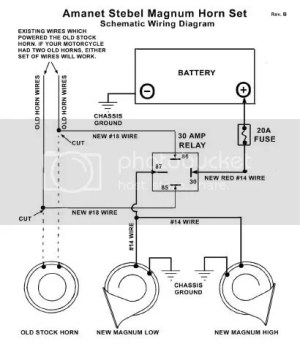Wiring new horn | Big Dog Motorcycles Forum