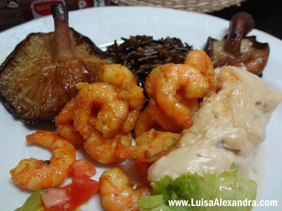 Mimos de Pescada com Molho de Nata com Cogumelos Porcini photo DSC06988.jpg
