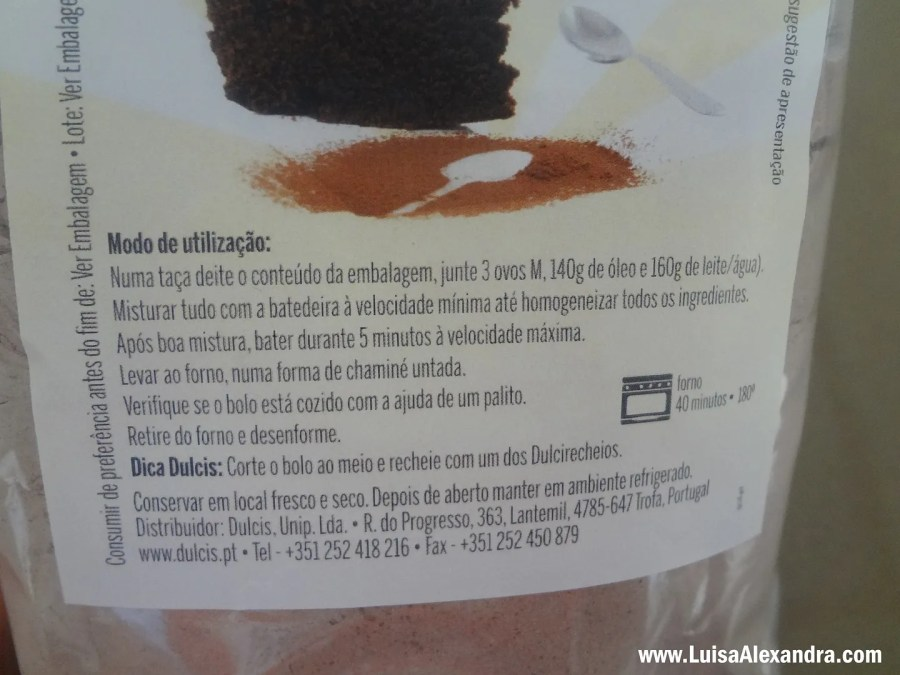 Bolo de Chocolate DULCIS photo DSC03456.jpg
