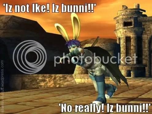 ike is a bunny