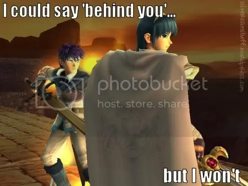 behind you, marth!