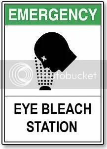 Eye Bleach Station