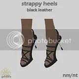 SH Black Leather