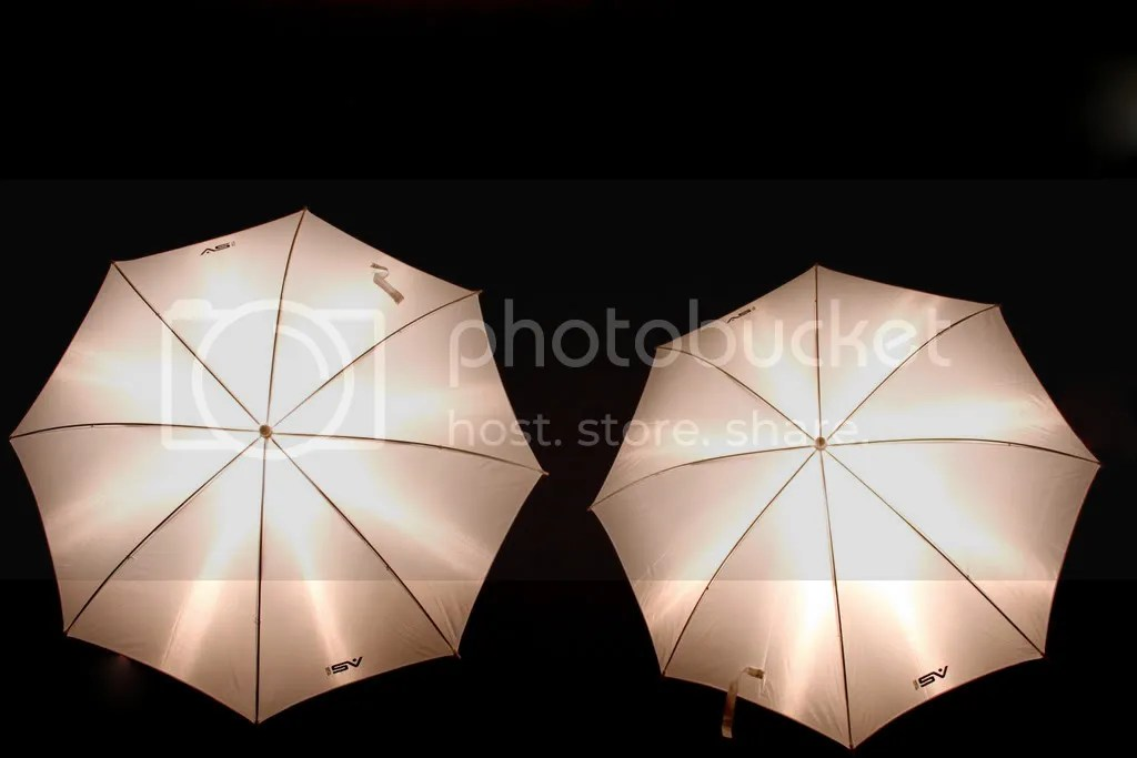Umbrella lighting
