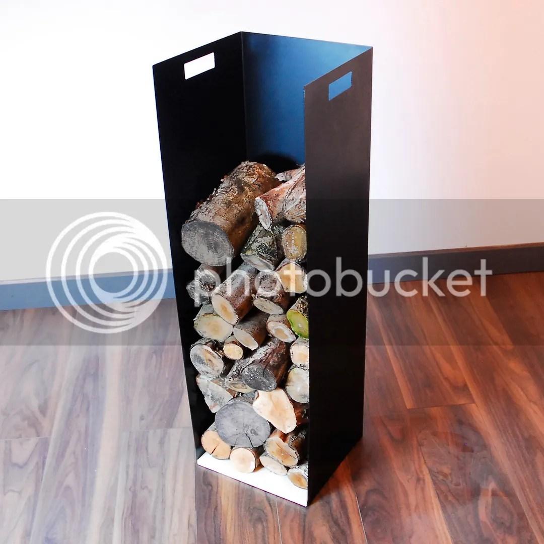 Large 102cm Modern Firewood Log Store Holder