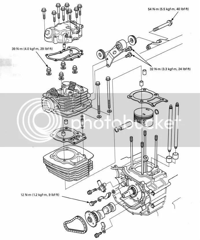 2002 Honda rancher torque specs