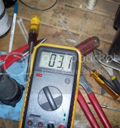 which leads me to conclude that anything 3 ohms or less means that your pump must be in great shape before the tear down of the little motor i put 12v to  [ 1024 x 768 Pixel ]