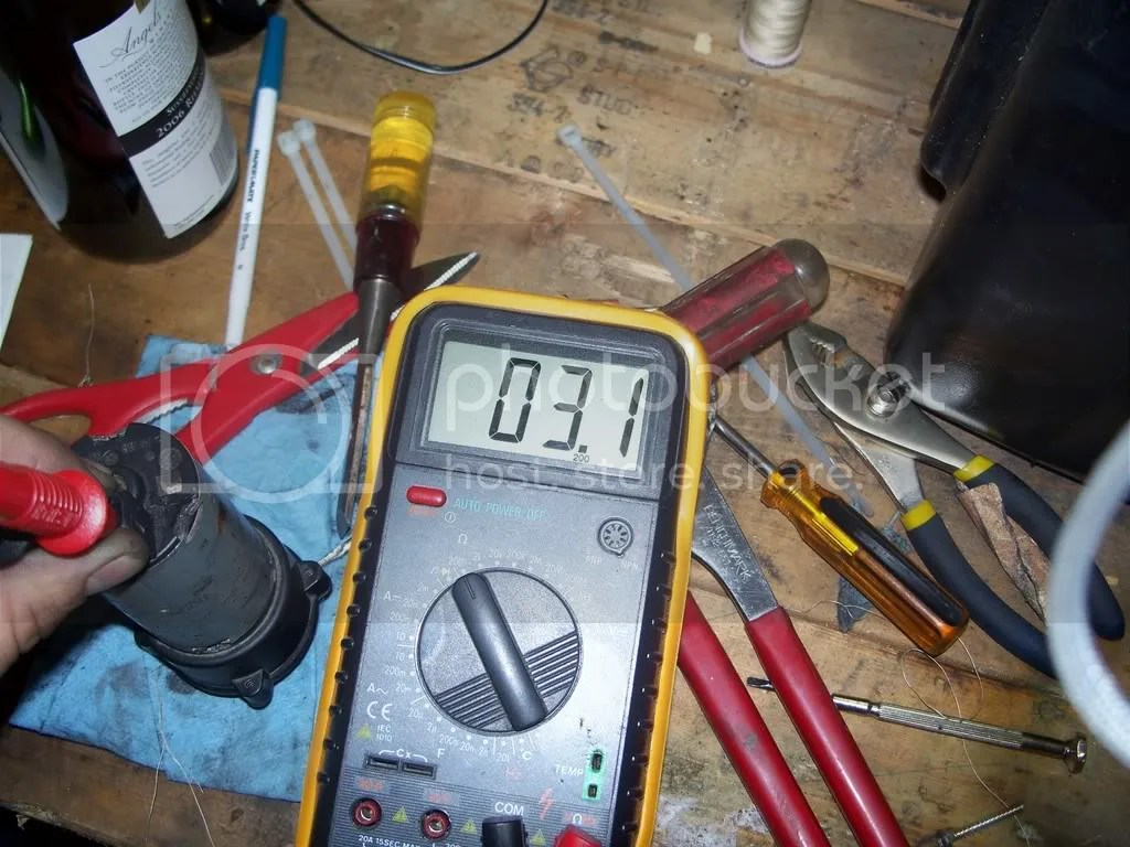 hight resolution of which leads me to conclude that anything 3 ohms or less means that your pump must be in great shape before the tear down of the little motor i put 12v to