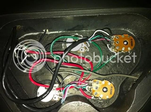 gibson les paul wiring diagram molex to sata washburn vcc trouble