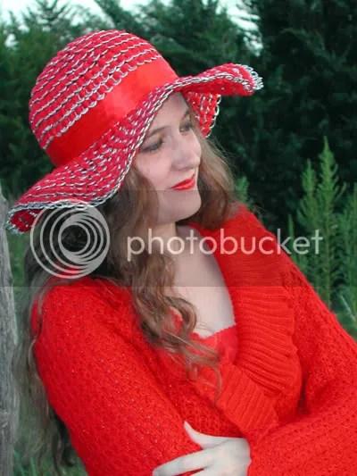 red sun hat