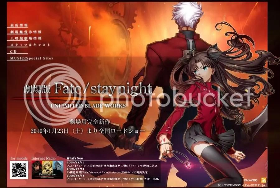 [電影] 2010 劇場版『Fate / stay night』命運守護夜 - 電影/電視情報 - 情報區 - 經典日本特撮 動畫 卡通回憶 ...