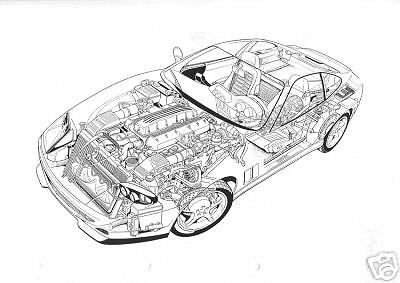 FERRARI 550 MARANELLO 2 Volume Workshop Manual Set Service