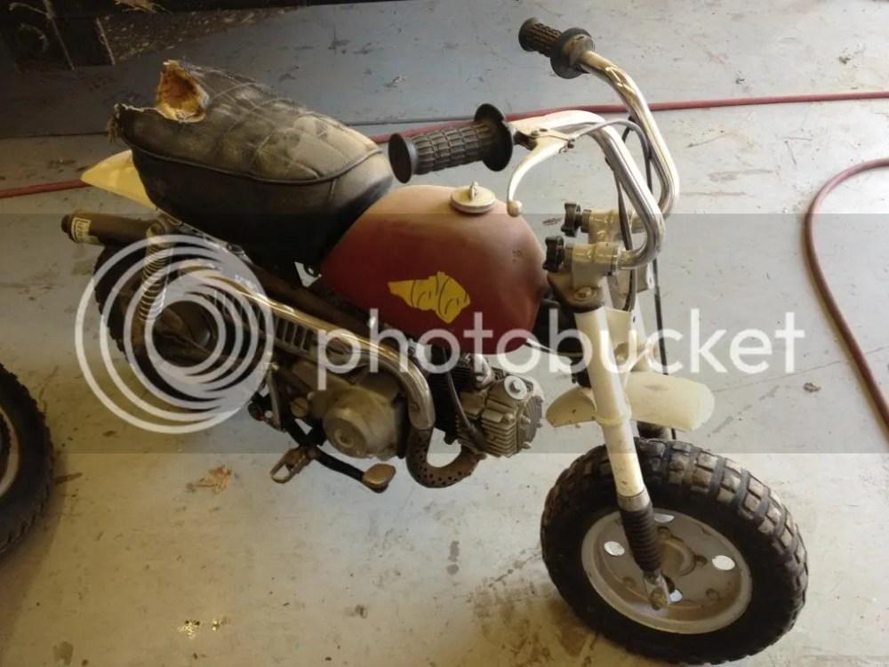 medium resolution of 1967 honda monkey z50m parts list array 1977 honda z50 build my first bike rh miniriders com
