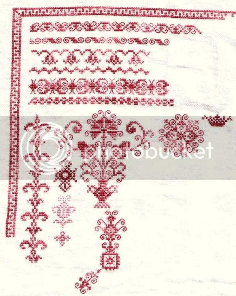 1x2 48-0 ct Legacy linen using HDF silks
