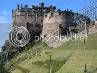 Part of Edinburgh Castle