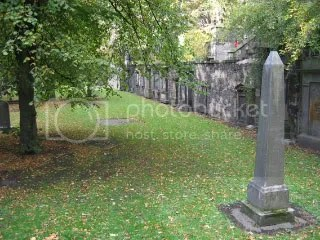 Cemetary, near the castle, Edinburgh