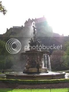 Fountain in Princes Garden