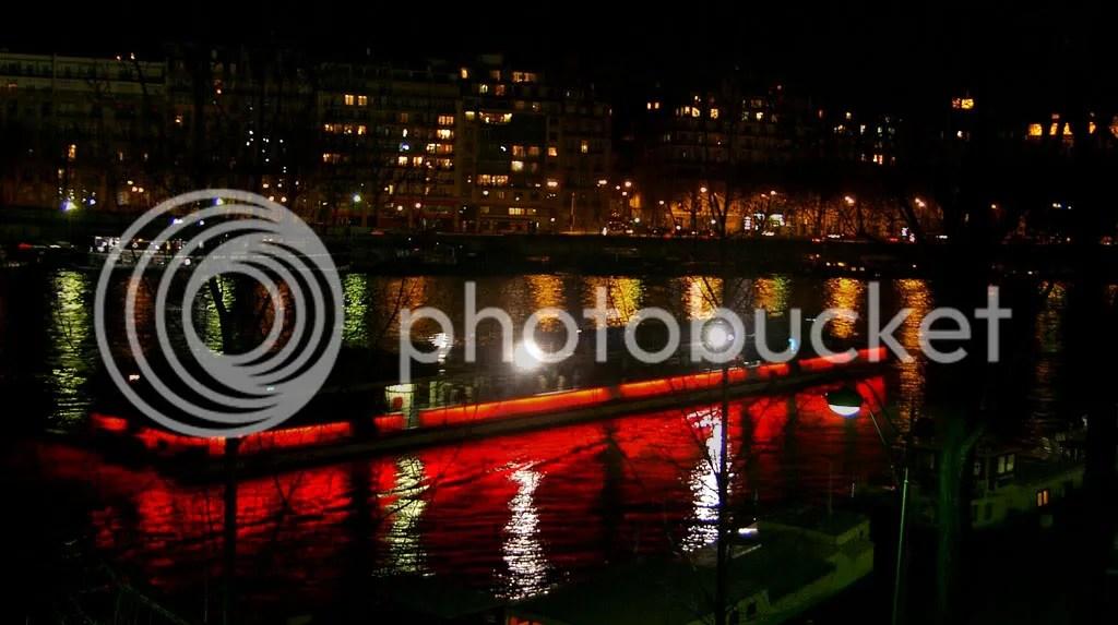 Private tour boat on the Seine River