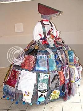 De prachtige jurk