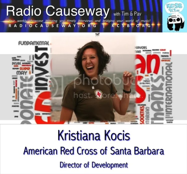 Radio Causeway: American Red Cross of Santa Barbara – Jan 25, 2011