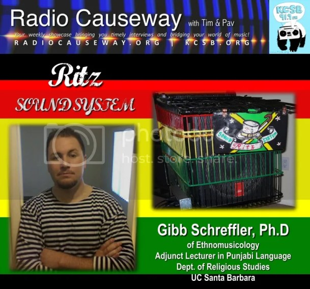 Radio Causeway: Ritz Sound! Gibb Schreffler, PhD – Feb 22, 2011